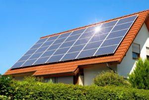 Hellingshoek voor zonnepanelen